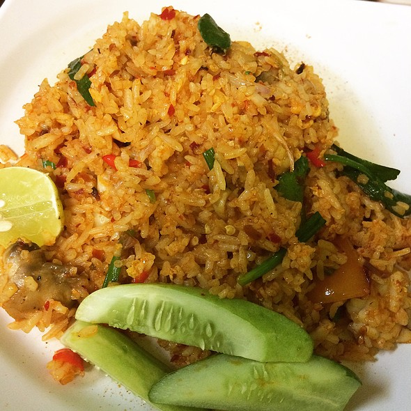 Tom Yum Fried Rice @ Beer Thai Restaurant