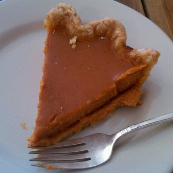 Honeyed Pumpkin Pie @ Four & Twenty Blackbirds