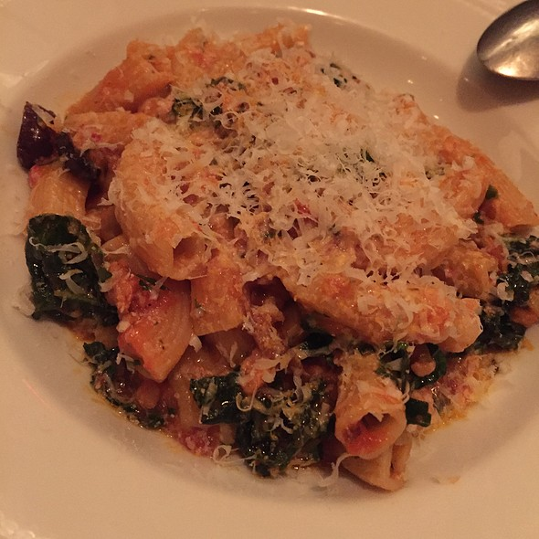 Penne With Rabbit And Pine Nuts