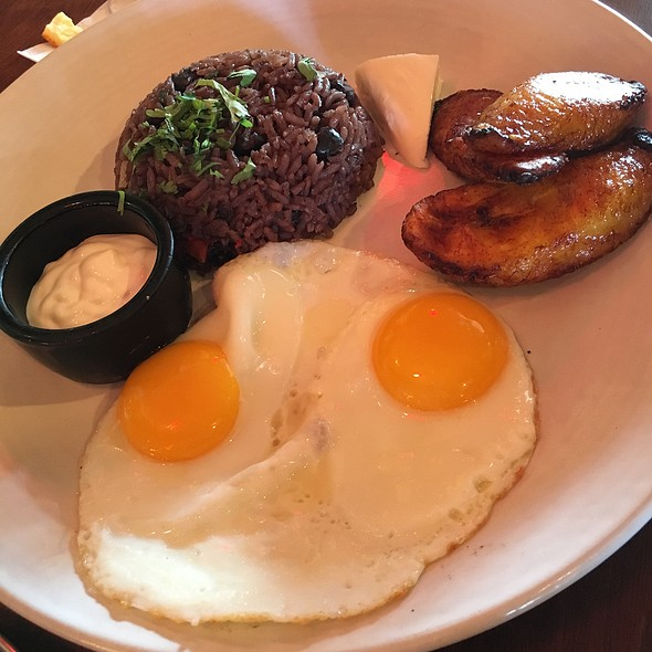 Gallo Pinto And Eggs @ Fonda