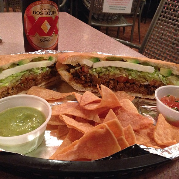Claybrook Farms Red Chili Beef Tortas