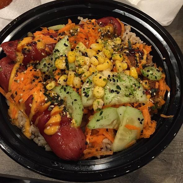 Ebi Bowl @ Takuya Japanese Style Hotdog & Bowl