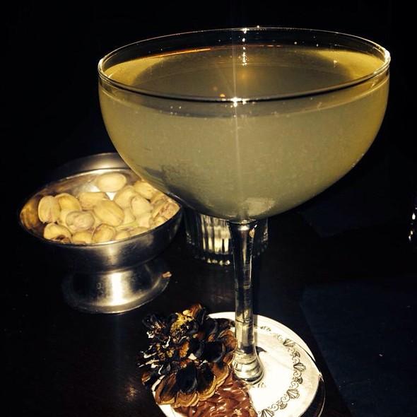 Punch With Burnt Pine Cone! @ Bar Night Jar
