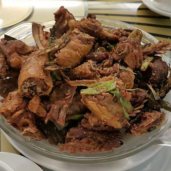 Deep Fried Peking Duck In Chilli N Salt