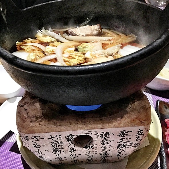 Angus Beef Sukiyaki @ Sushi Taro