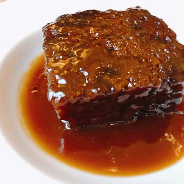 Sticky Cumbrian Toffee Pudding