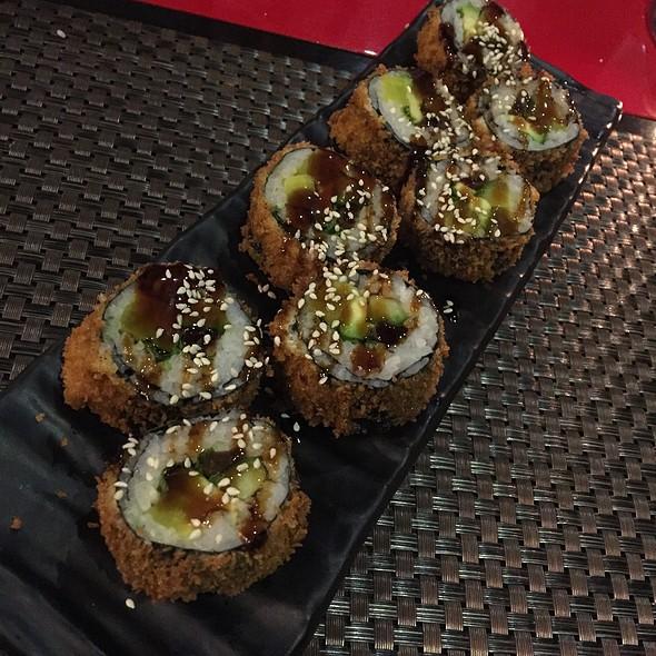 Frittierte Sushi Vegetarisch