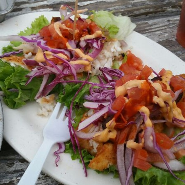 Fish Tacos Tropicales