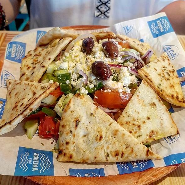Greek Salad @ Kouzina