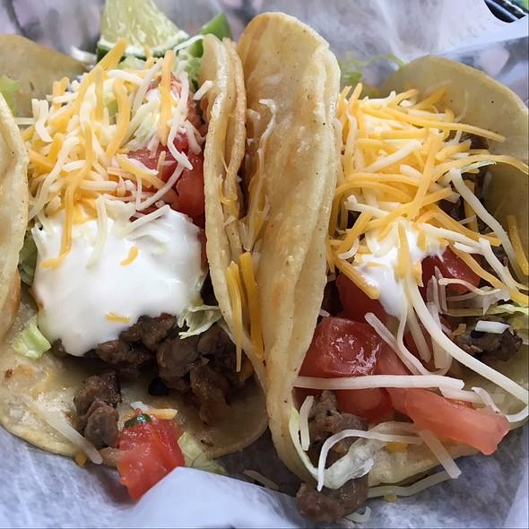 Carne Asada Soft Tacos @ Pacos Tacos Mexicali