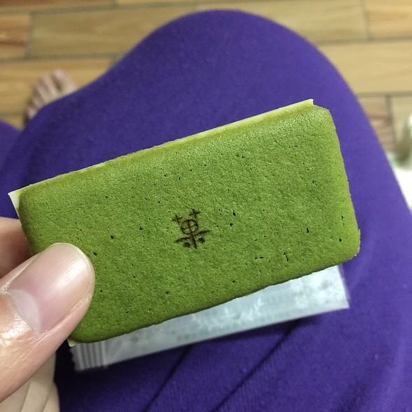 Matcha Biscuit