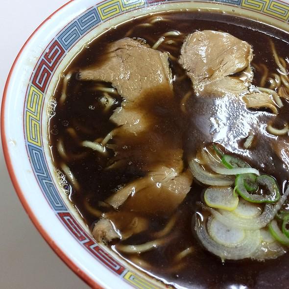 醤油ラーメン @ 蜂屋5条創業店
