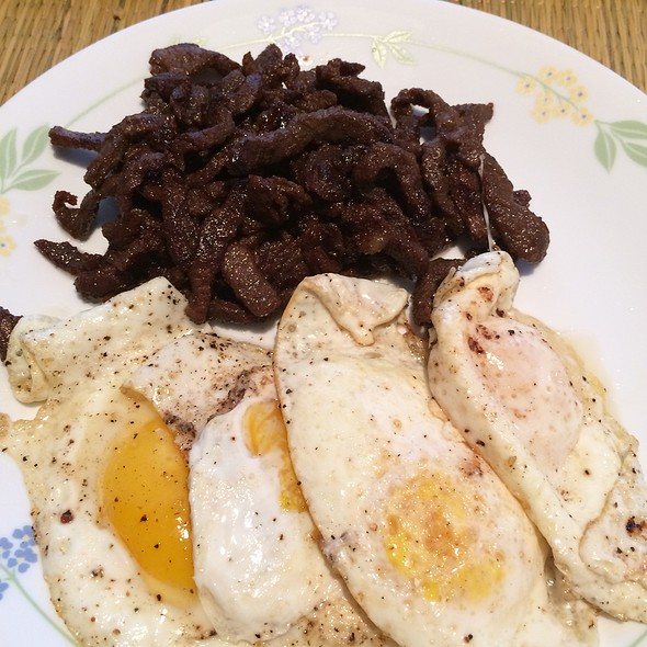 Beef Tapa With Eggs