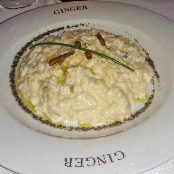 Risotto De Bacalao Con Aceitunas Negras @ Restaurante Ginger
