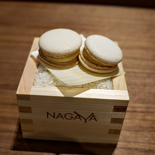 Sake Macarons