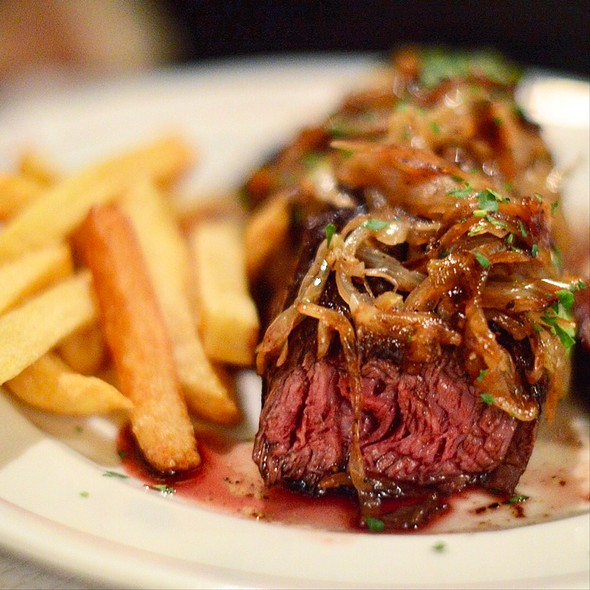 Steak With Shallots And Frites
