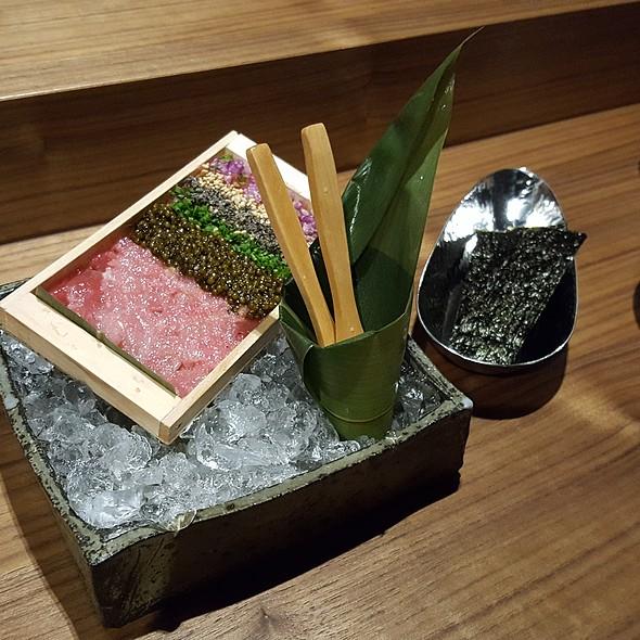 Tuna Tartare and Caviar @ Yoshi by Nagaya