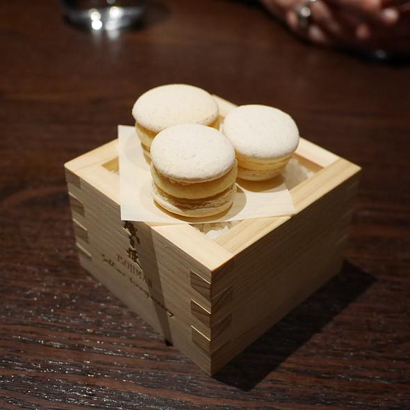 sake macaron