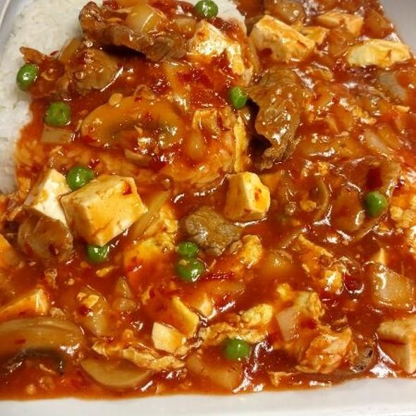Mao Pao Tofu with Beef