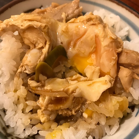 Rice With Miso And Soft Boiled Egg