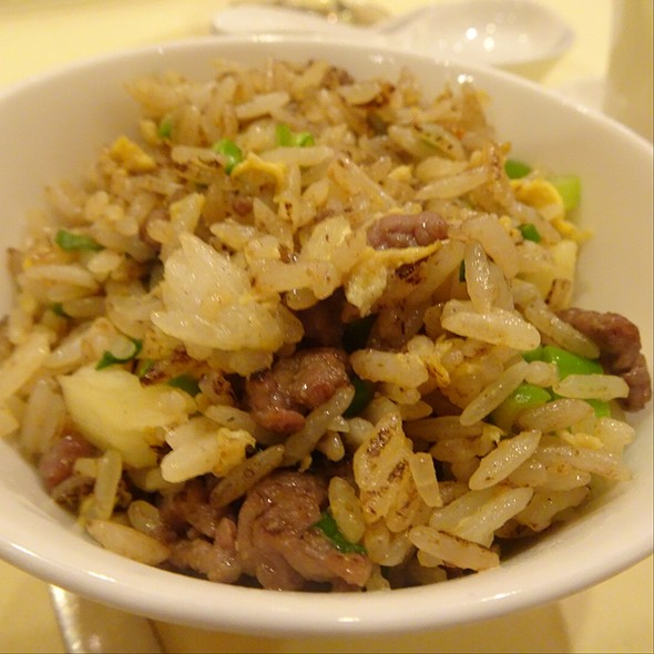 Nonya Style Pineapple Fried Rice @ Celestial Court