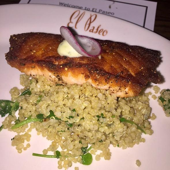 Grilled Salmon @ El Paseo Restaurant