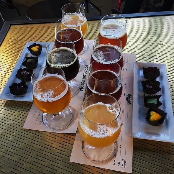 Beer And Chocolate Flight @ Sierra Nevada Torpedo Room