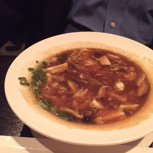 Hot and Sour Soup @ Mandarin Roots