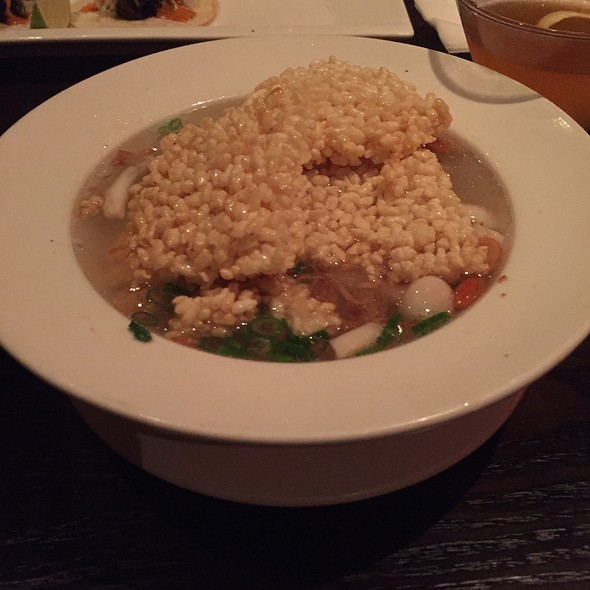 Sizzling Rice Soup @ Mandarin Roots