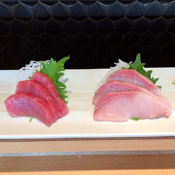 Maguro & Hamachi Sashimi @ Tempura Ichidai