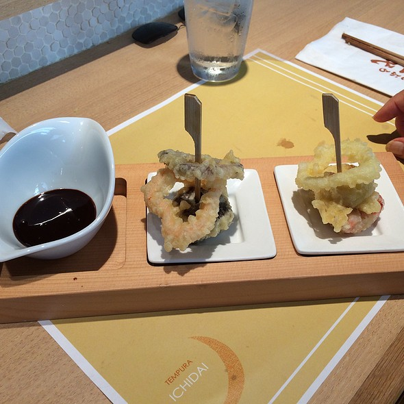 Dessert - Tempura Fruits With Chocolate Sauce