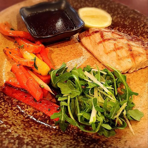 Grilled Mahi Mahi With Kabayaki Butter
