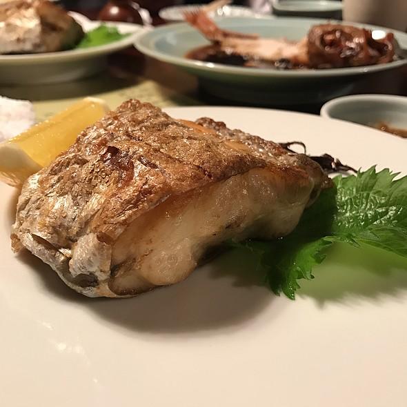 太刀魚の塩焼き @ Toraya