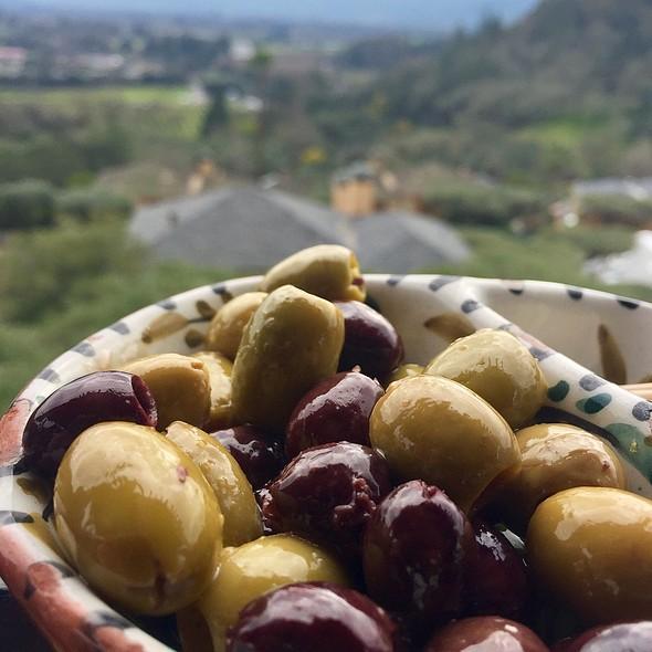 Marinated Olives @ Auberge du Soleil