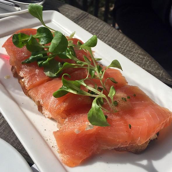 Salmon Toast @ Auberge du Soleil