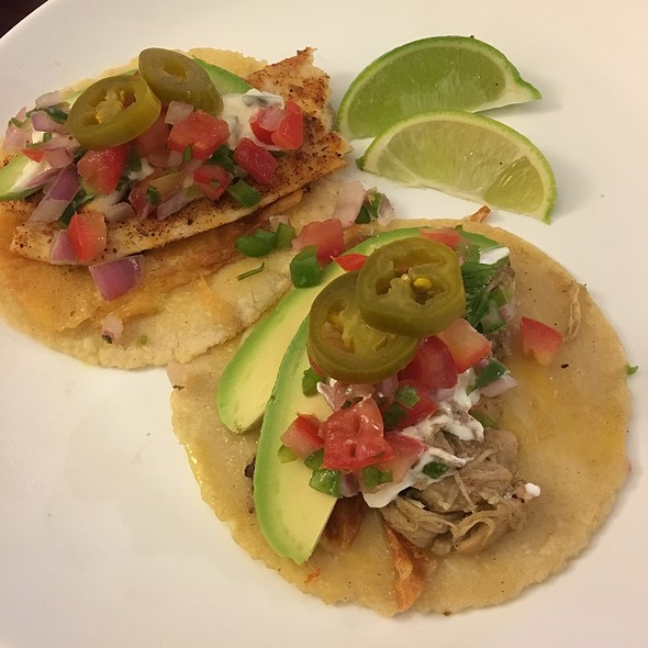 Blackend Fish And Chicken Taco