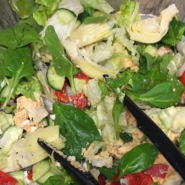 Salad @ Potbelly - Lombard
