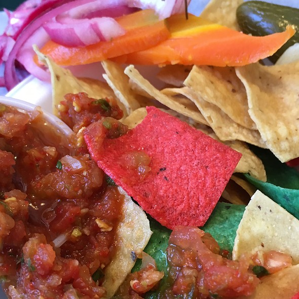 Chips and Salsa and Pickled Veggies