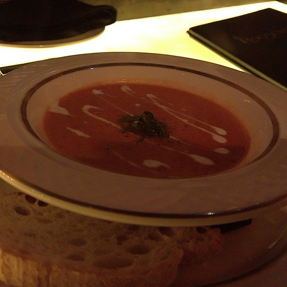 Tomato Basil Bisque @ Roosevelt Roon