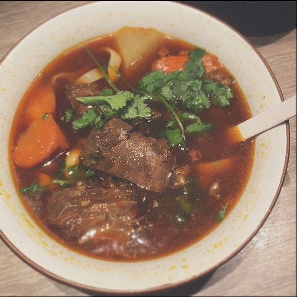 Spicy Stewed Beef With Noodle