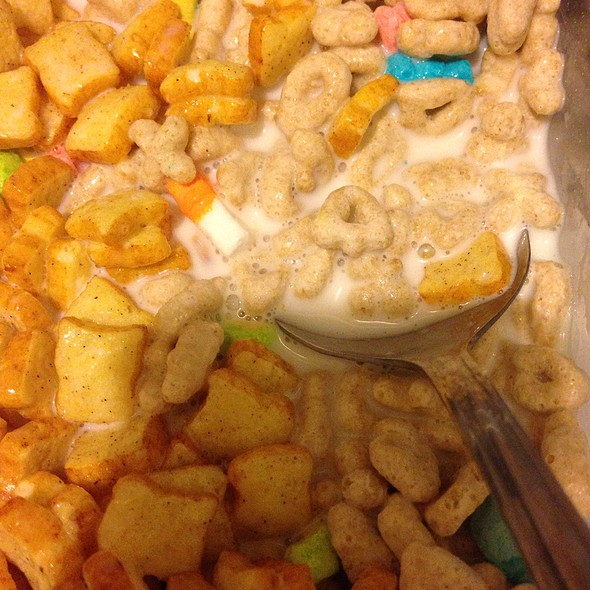 French Toast Crunch & Lucky Charms