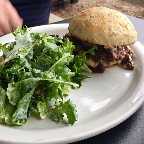 Beef Brisket & Side Salad @ Winslows Home