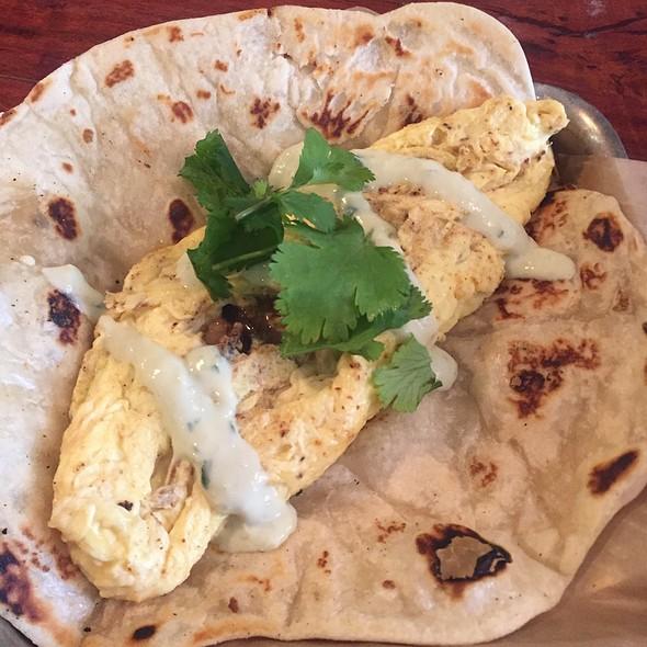 Pork Belly Breakfast Taco