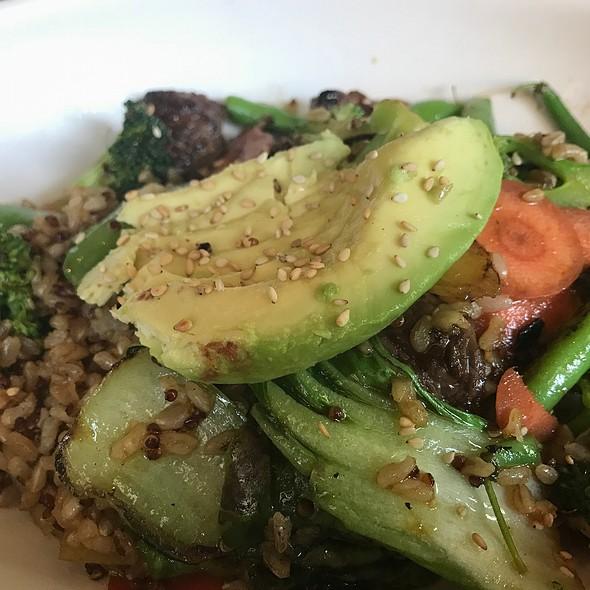Teriyaki Brown Rice Bowl @ True Food Kitchen