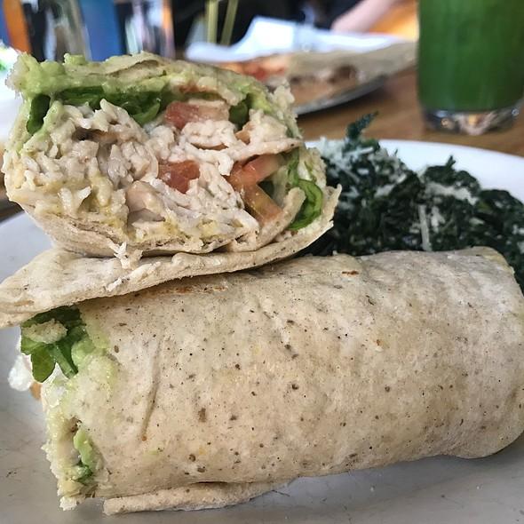 Smoked Turkey Wrap @ True Food Kitchen