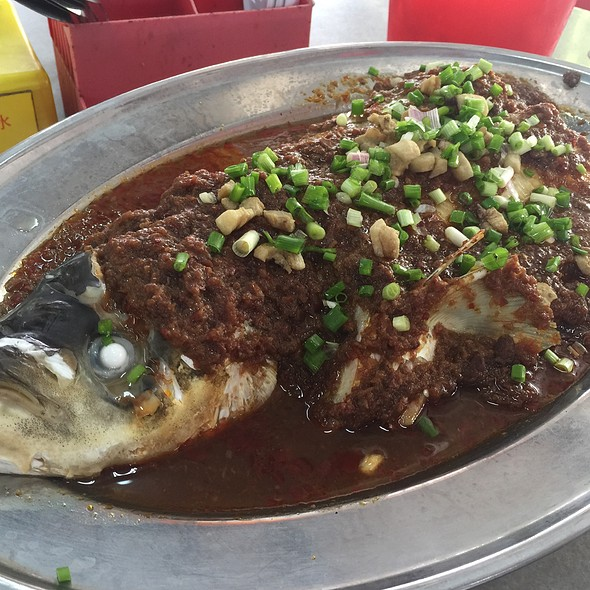 Steamed Fish with Black Beans
