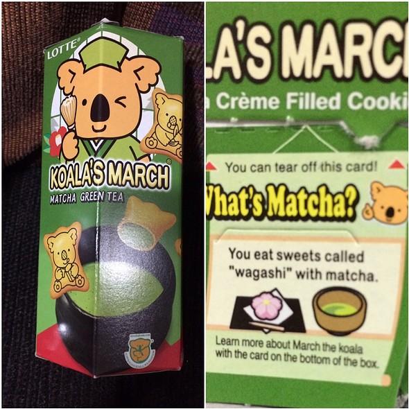Koala's March Greentea @ Somewhere In Japan