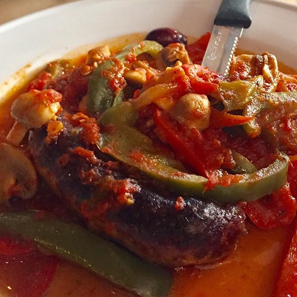 Grilled Sausages @ Topo Gigio Ristorante