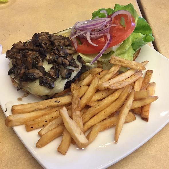 Mushroom Swiss Burger @ Lark Creek Grill