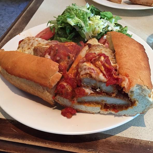 Chicken Parmigiana Hero @ Patsy's Pizzeria